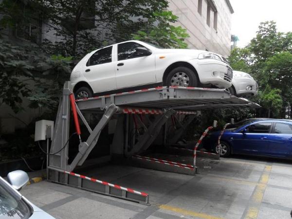 液压停车升降平台